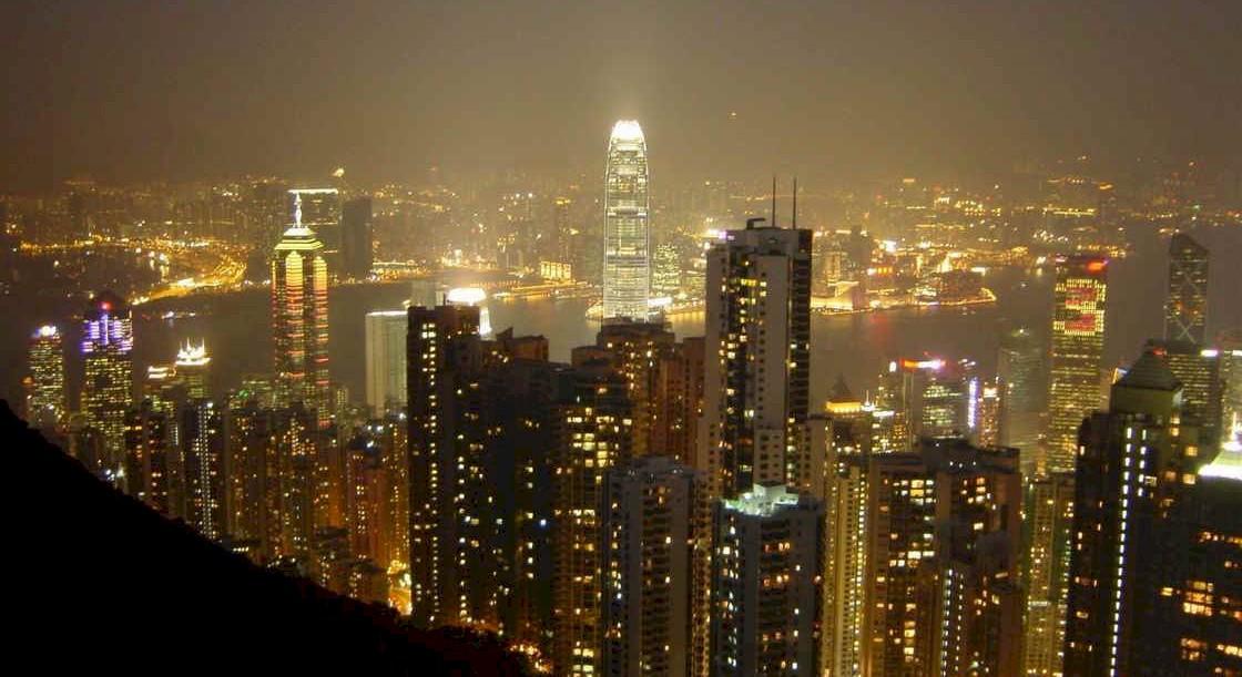 东方之珠-香港夜景